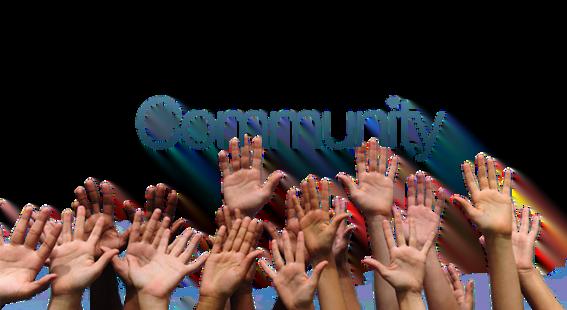 Community, Community, Community!!!