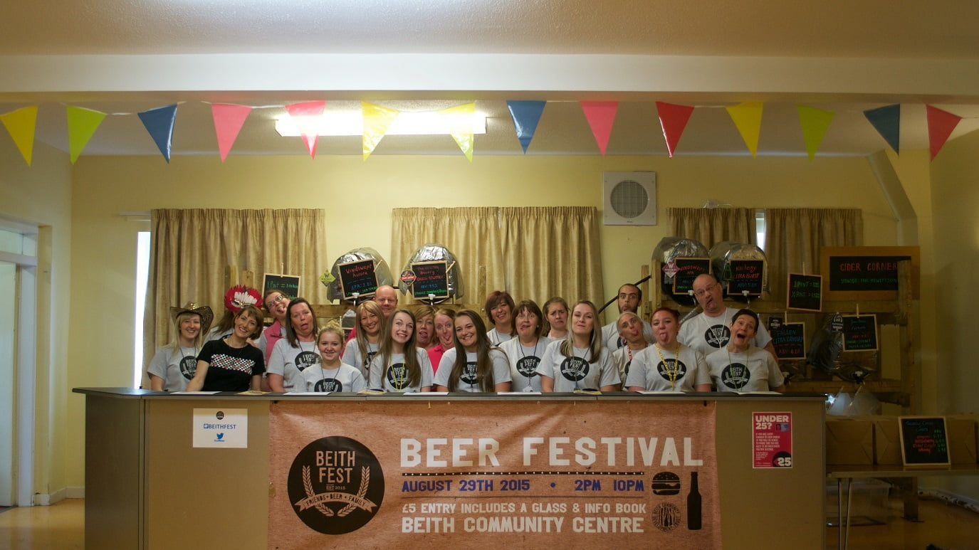 Beer Festival Success for Beith