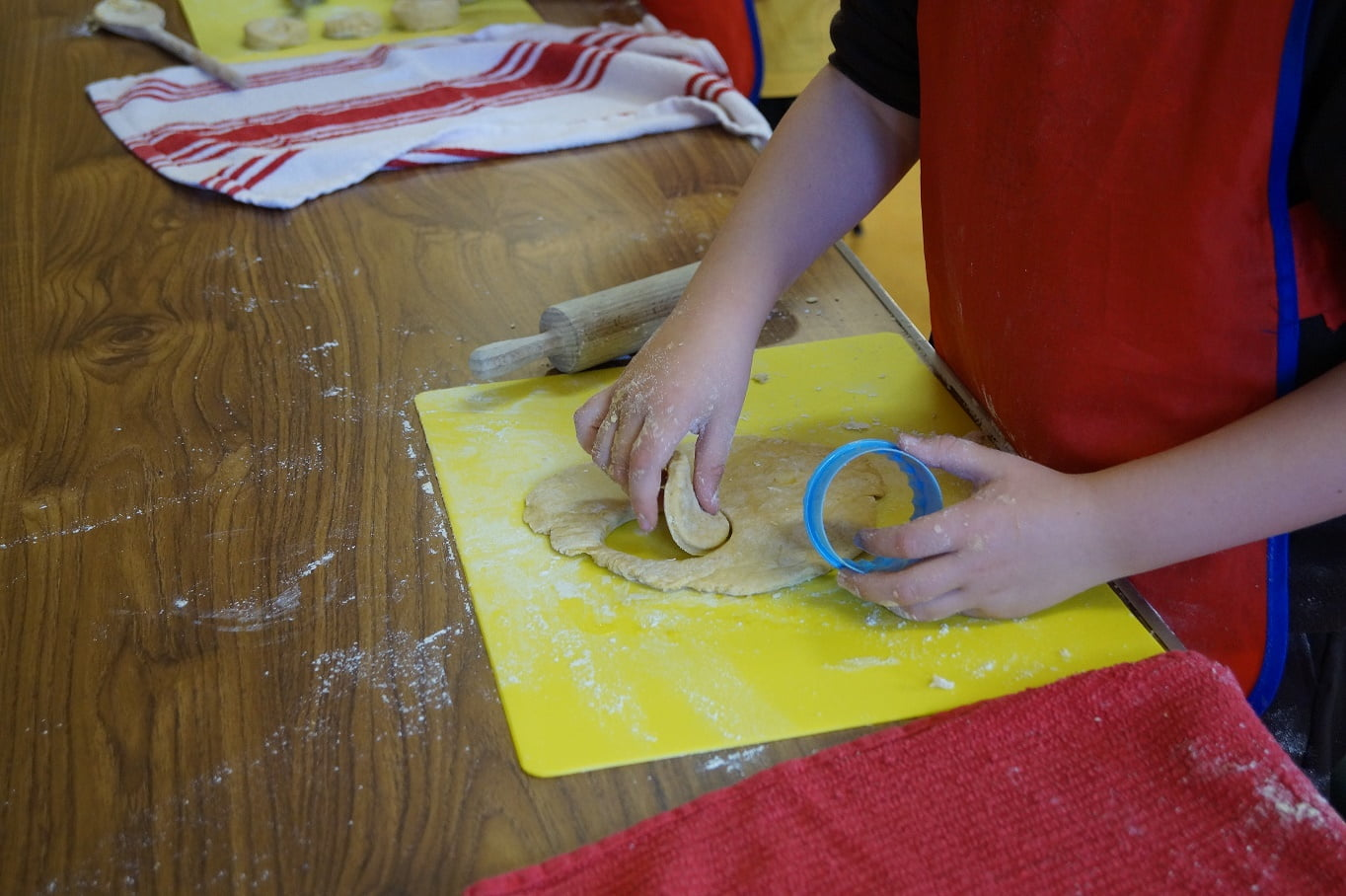 Kids Cooking Classes – Custard Creams