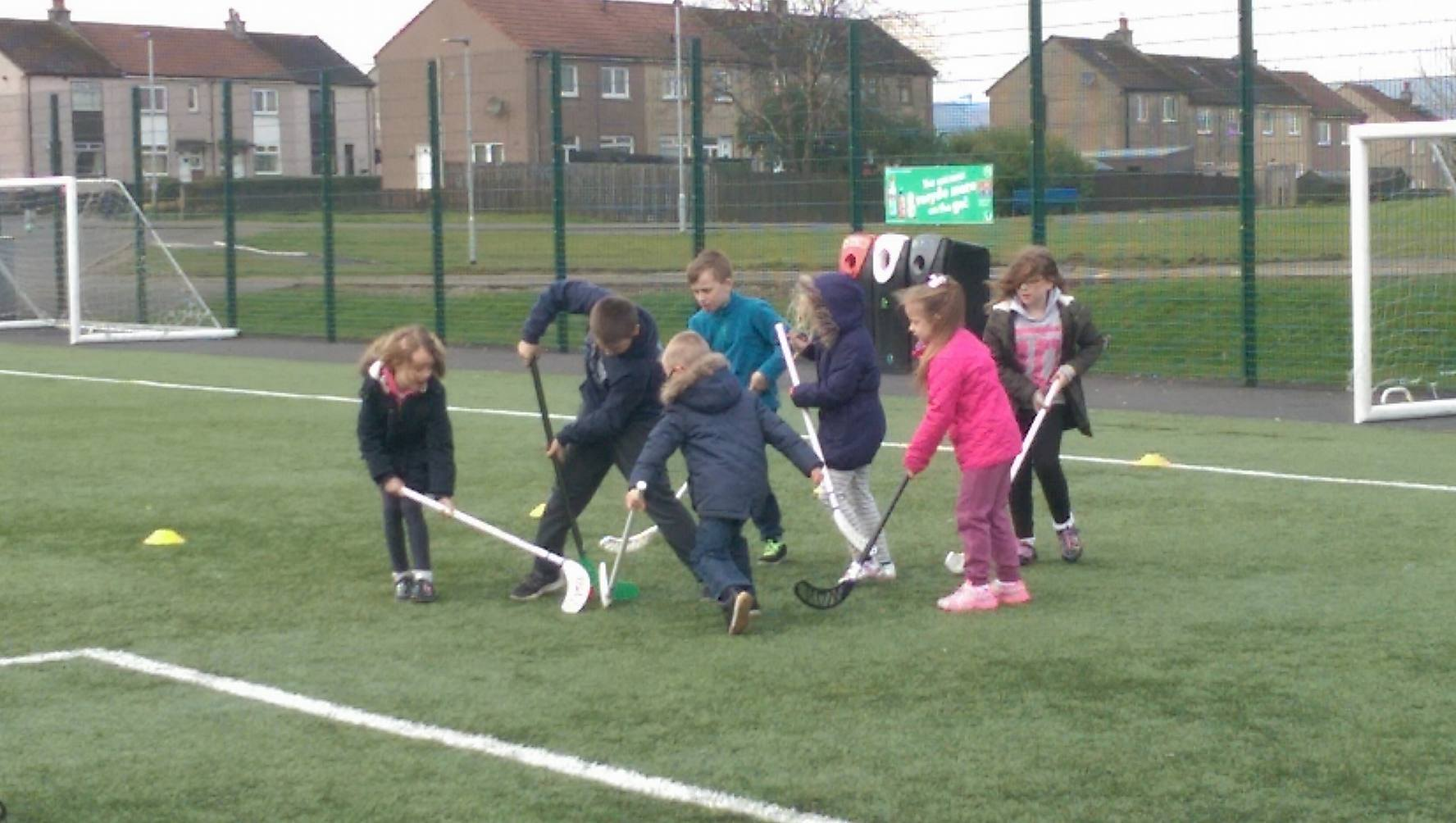 A windy start to Week 2 of Play Scheme