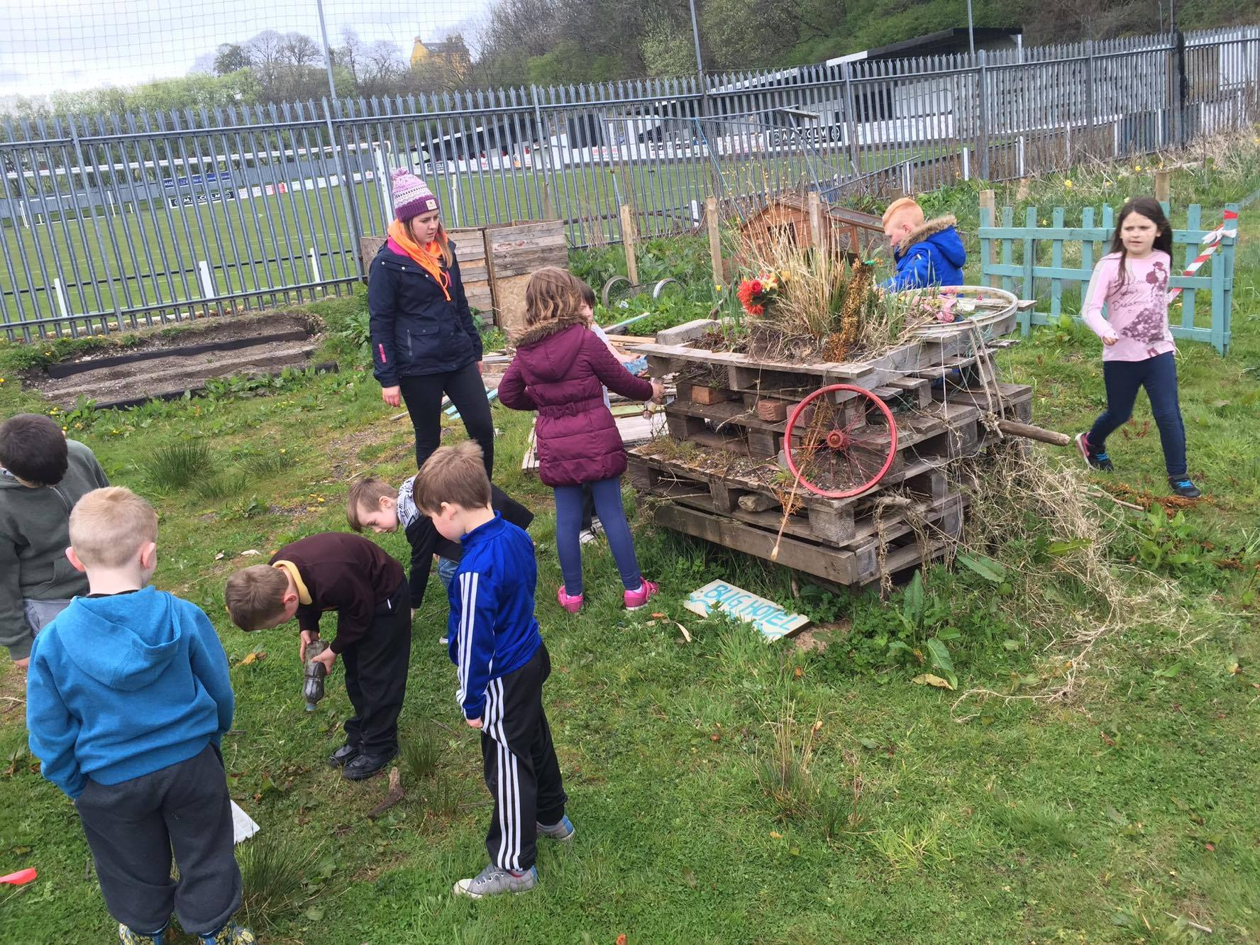 Re-vamping the Bug Hotel!
