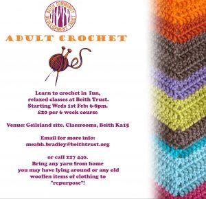 Adult crochet