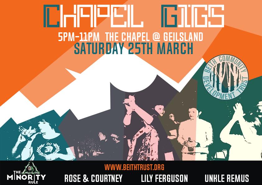 Chapel Gigs & Kids Gigs
