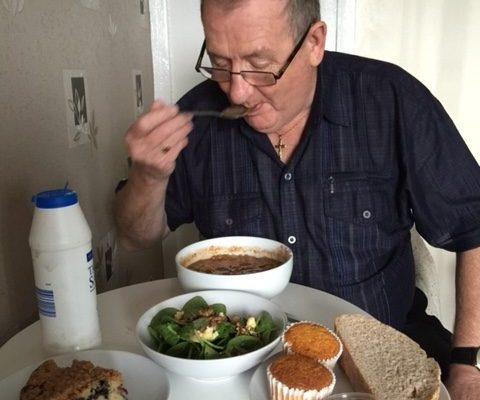 Erica _ Charlie -Soup_ salad _ cake