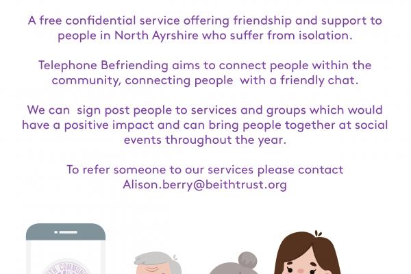 Lend an ear- Telephone Befriending