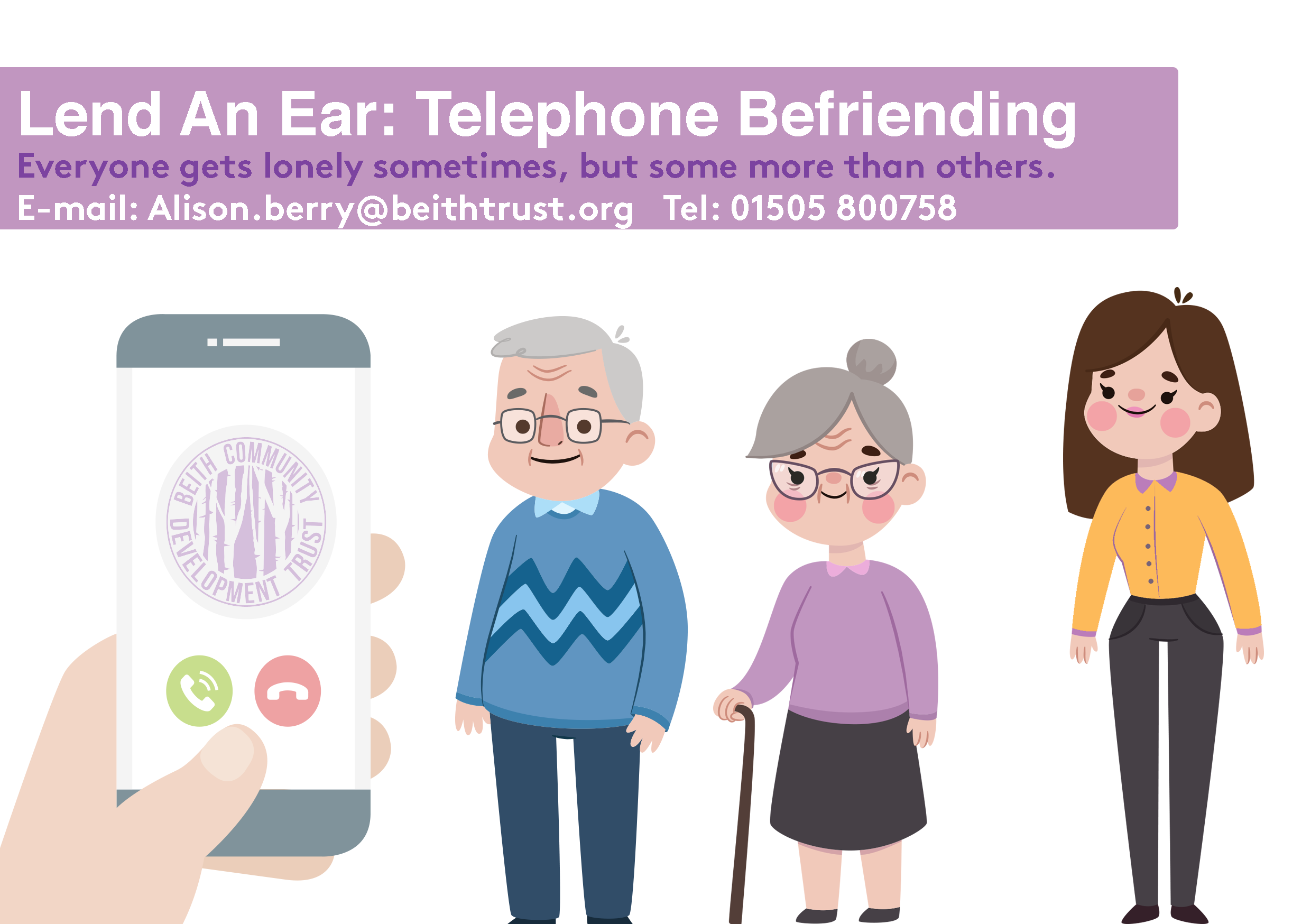 Lend An Ear: Telephone Befriending Launch
